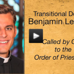 Transitional Deacon Benjamin Lehnertz