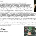 Pastor letter April 19 2015