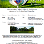 Annunciation Golf Classic - May 4