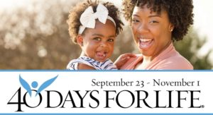 40 Day for Life - Sept 23 to Nov 1